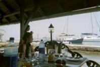 Repas anniversaire a l'Anchorage Yacht Club