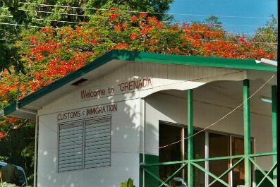 La douane de Prickly Bay