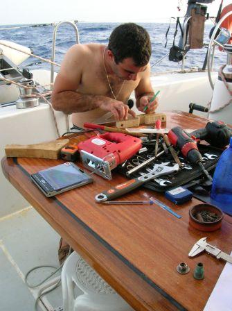 Bricolage serieux: faconage de piece en bois