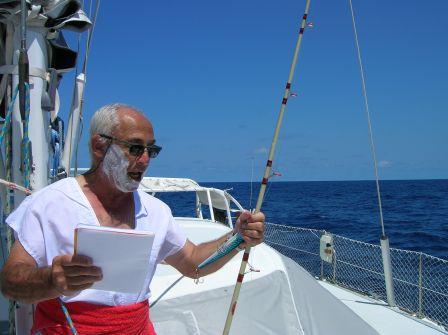 Bapteme de Neptune sur l'equateur